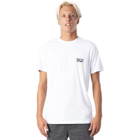 Rip Curl Native Glitch Camiseta Hombre, white